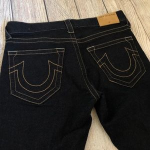 True Religion 28 Dean Shorts Tapered Button Fly